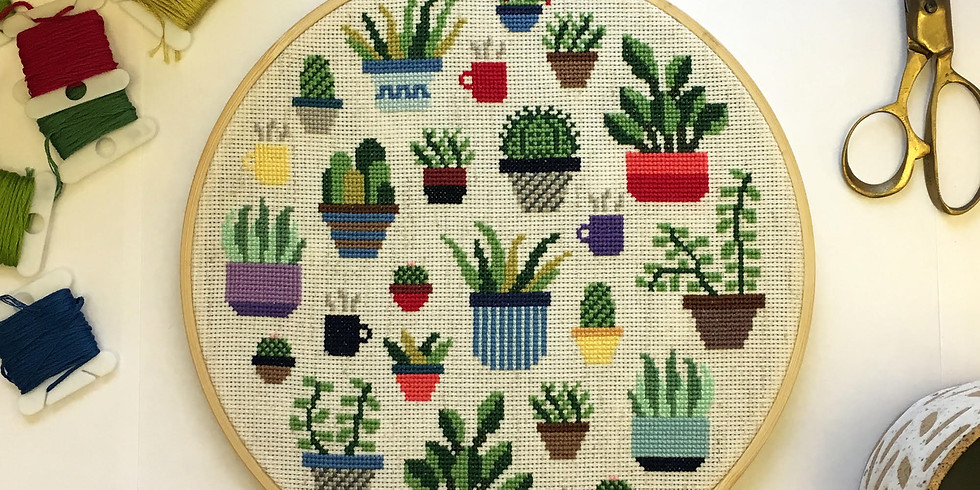 Learn to Cross Stitch with Ann Mills