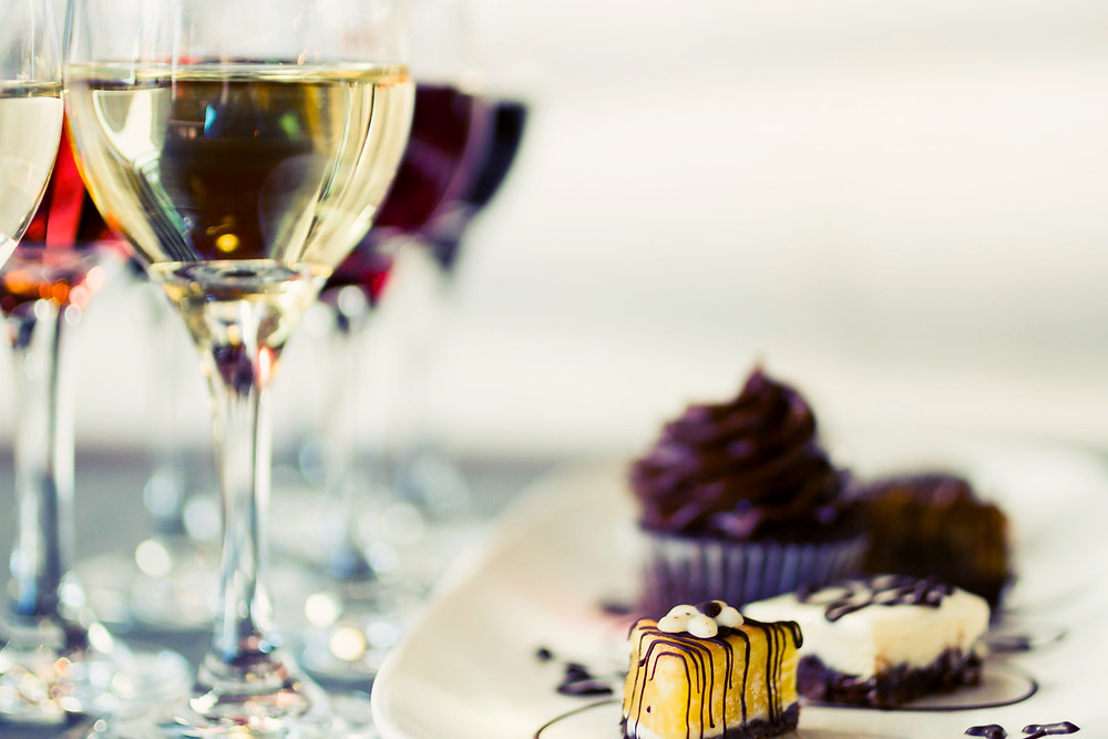 What kind of wine goes with cake?