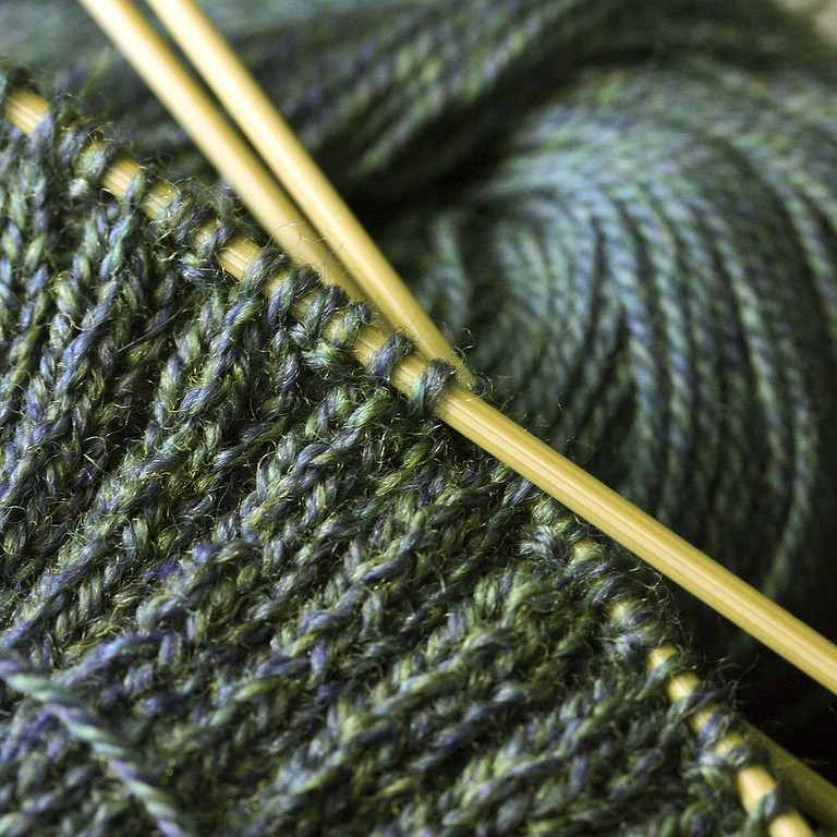 Learn to Knit with Becky DeVerna (Four Sessions)