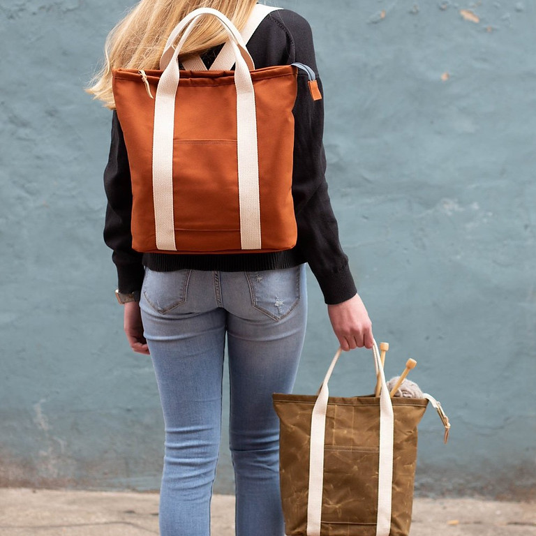 Sew Your Own Backpack with Rachel Sterling (Three Sessions)