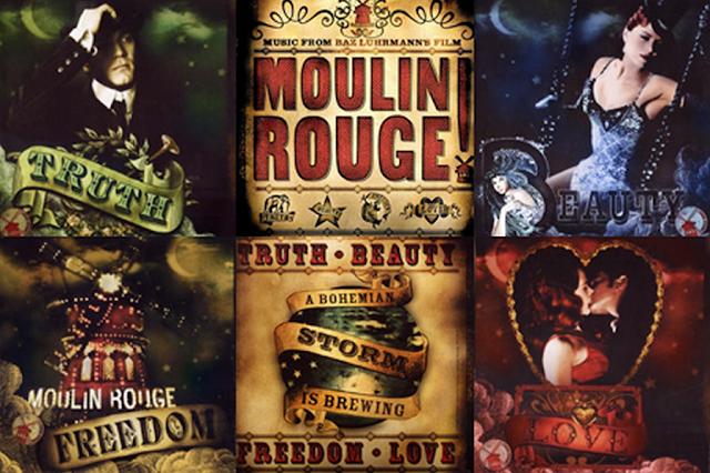 Bohemian Motto | Moulin Rouge