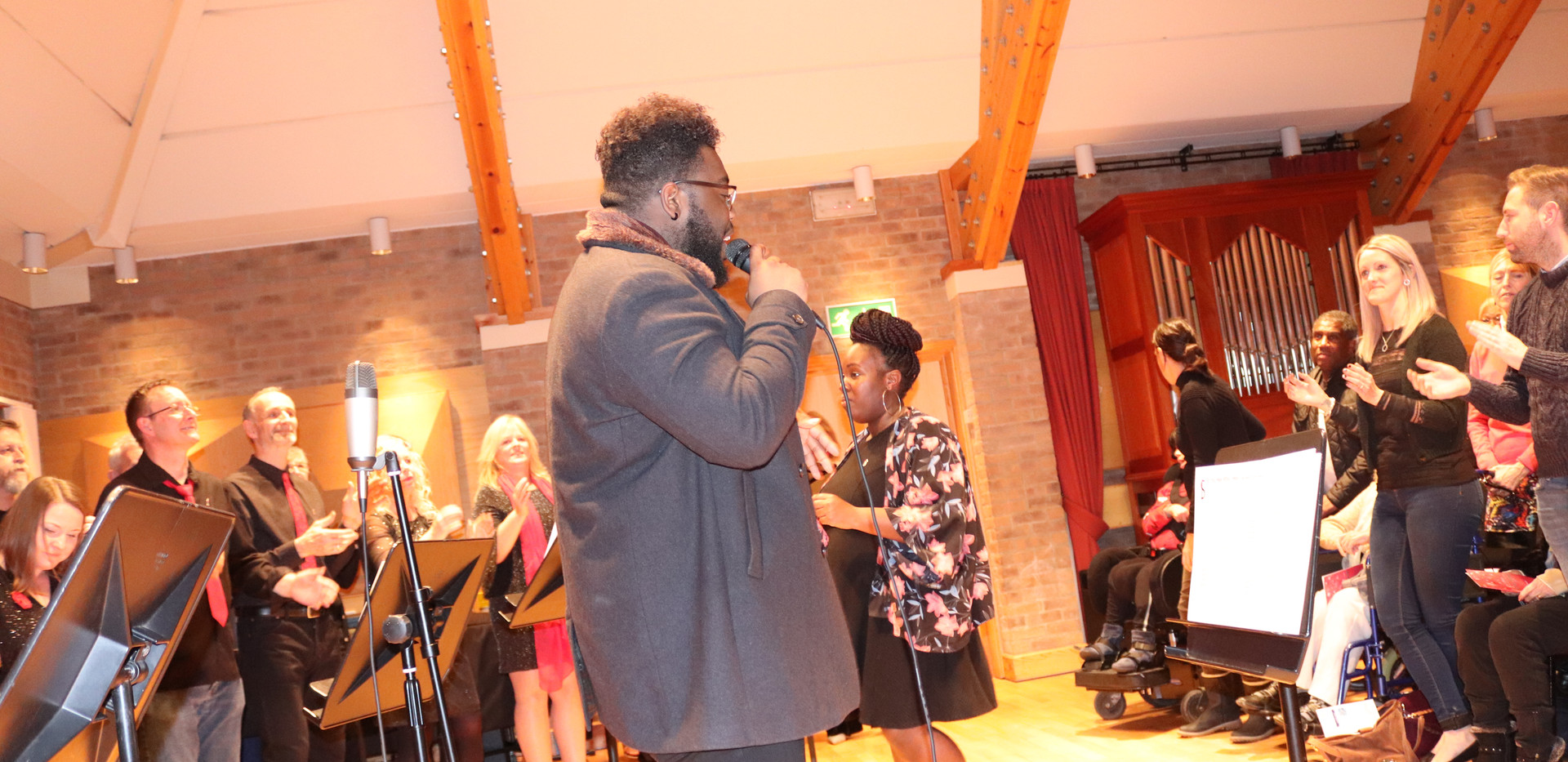 Special Guest James and SIB Choir