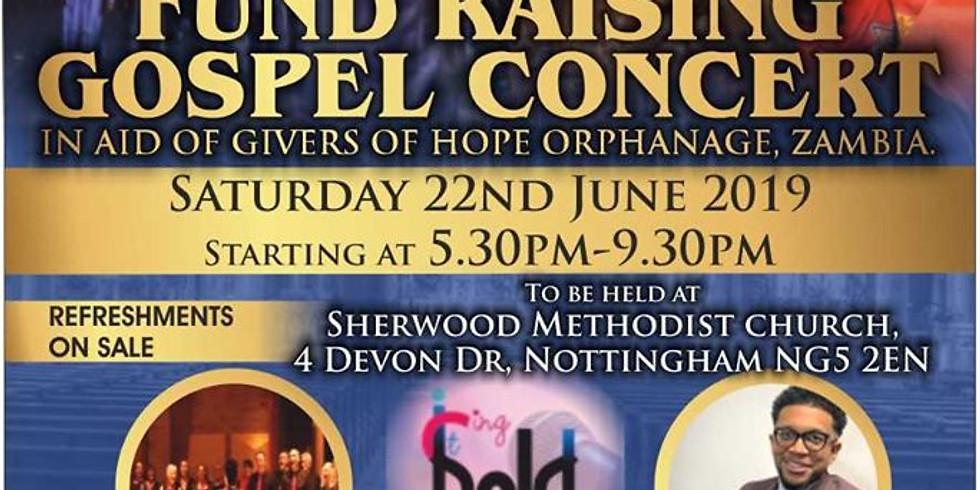 Fill Me Up Fundraising Gospel Concert