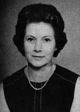 Mrs Rita Sant - Chairman 1973 - 1976