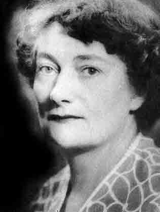 Mrs Jean Anderson, MBE President 1955-1958