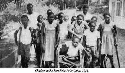 Polio Clinic Children 1987