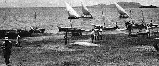 Lake Victoria Dhows 1947