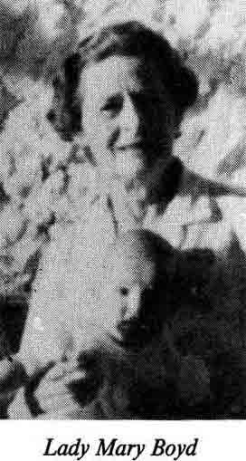 Lady Mary Boyd of Nanyuki Branch