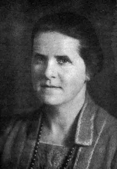 Mrs McGregor Ross - Founder & First of the EAWL