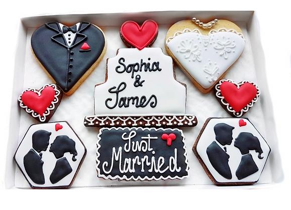 just married - personalised