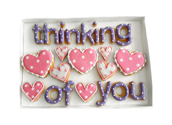 'say it with cookies!' - thinking of you