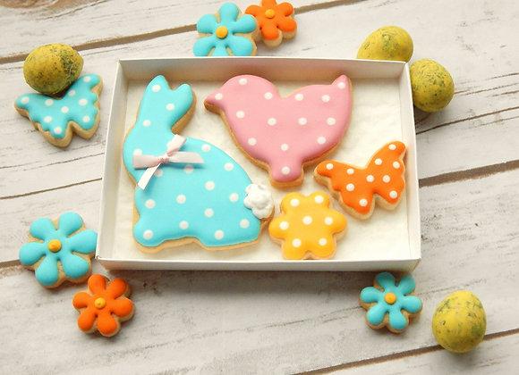 Easter polka dot mix