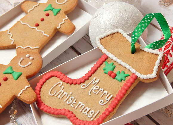 Personalised Gingerbread stocking