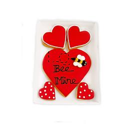 'bee mine' cookies