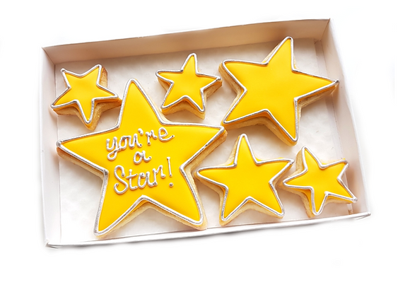 'you're a star!'