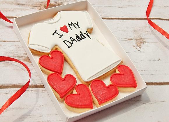 I love my dad/daddy/stepdad t-shirt