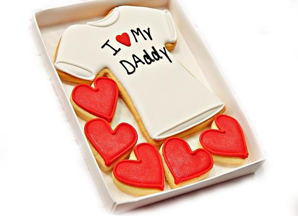 i love my dad/daddy/stepdad/stepdaddy  t-shirt