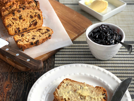 (easy) virtually fat free tea loaf recipe