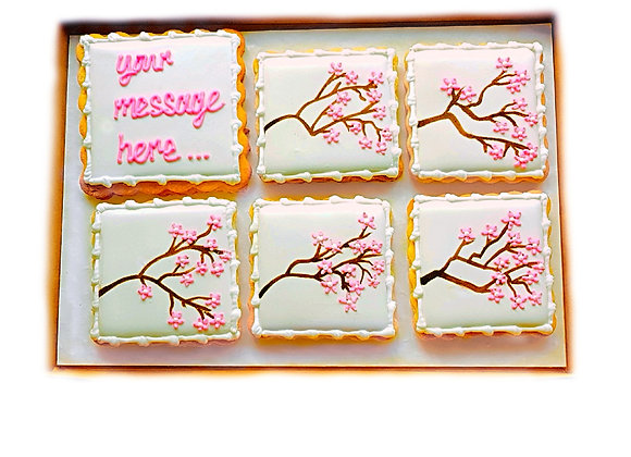 personalised cherry blossom