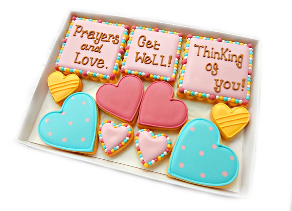 personalised hearts & squares