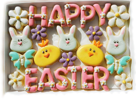 say it with cookies! - happy easter