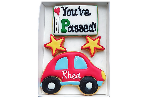 personalised 'you've passed!'