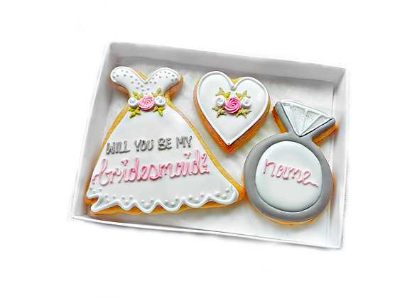 bridesmaid/maid of honour/flower girl? - personalised