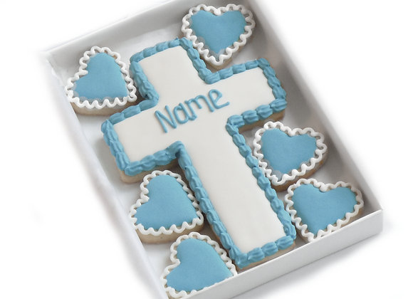 christening/communion cookies - personalised