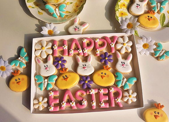 Say it with cookies! -Happy Easter