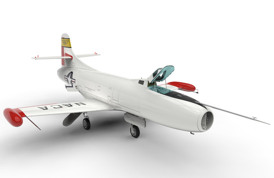 JETMADS 355813 1/32 D-558-I Skystreak