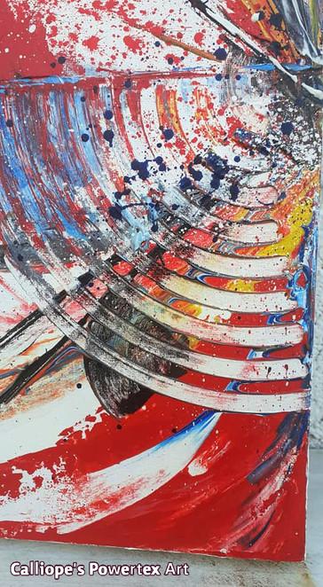 """""""Δύο Σε Ένα""""   Abstract Σε Καμβάδες   Calliope's Powertex Art"""