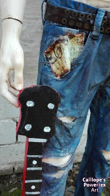 Διακοσμητική Χειροποίητη Κούκλα με Powertex | Calliope's Powertex Art