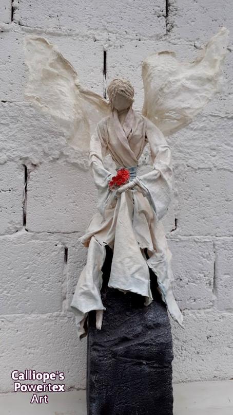 Διακοσμητικό Γλυπτό-Αγαλματίδιο | Calliope's Powertex Art