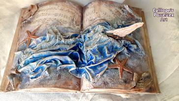 Χειροποίητο Διακοσμητικό Βιβλίο με Powertex | Calliope's Powertex Art