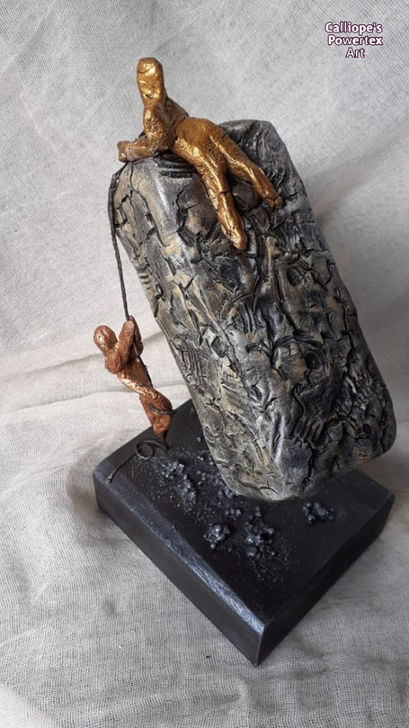 Εικαστικό Αγαλματίδιο | Calliope's Powertex Art