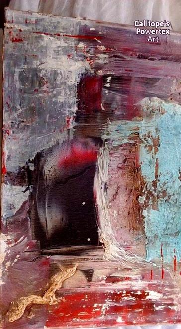 """""""Ελευθερία""""   Abstract Σε Καμβά   Calliope's Powertex Art"""