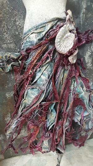 """""""Αμμωνίτες""""   Επιτοίχιο Μπούστο σε Καμβά με Powertex   Calliope's Powertex Art"""