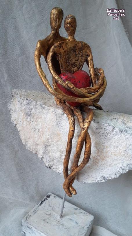 Εικαστικά Αγαλματίδια | Calliope's Powertex Art | Θεσσαλονίκη