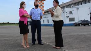Voos comerciais começam este ano em Guarujá, garante Secretaria Nacional da Aviação a Rosana Valle