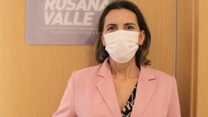 Rosana Valle pede ao Sebrae orientação aos pequenos comerciantes na retomada