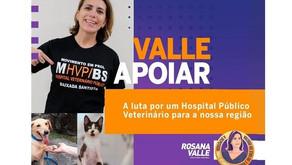 A Baixada precisa de Hospital Veterinário Público