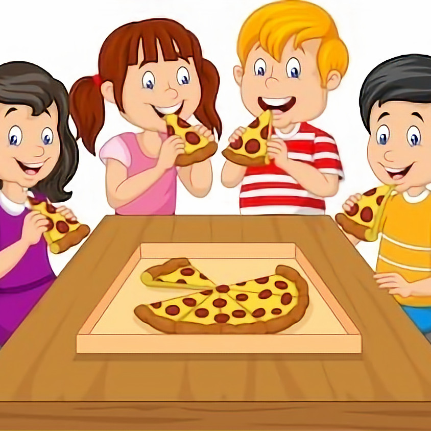 Kids only Pizza Party October 9th