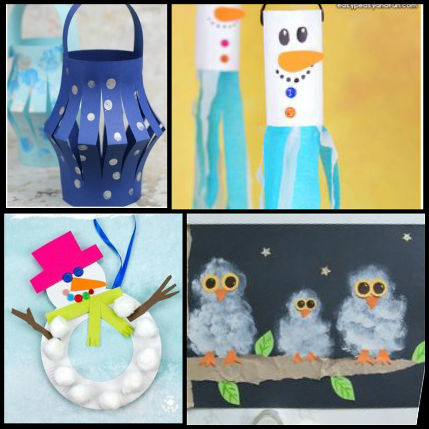 Winter Crafting Grades K-4 (Wednesdays)