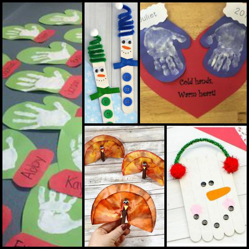 Winter Crafting Grades K-4