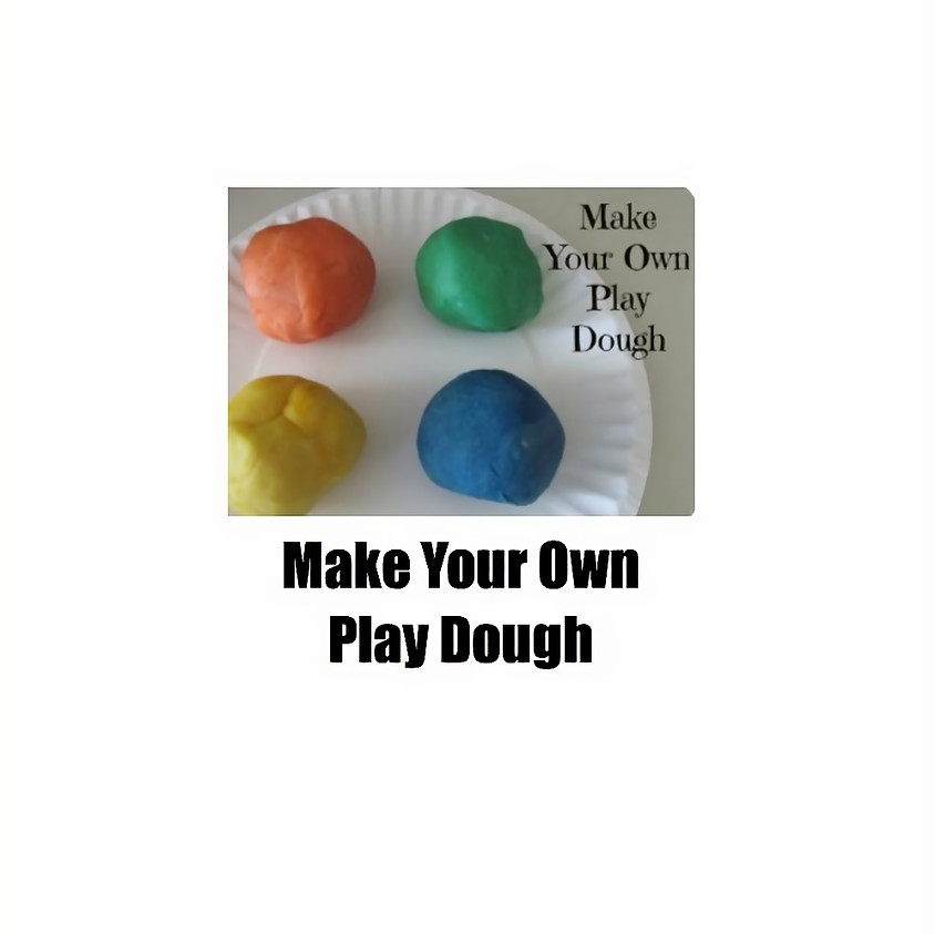 Saturday Craft Make Your Own Play Dough