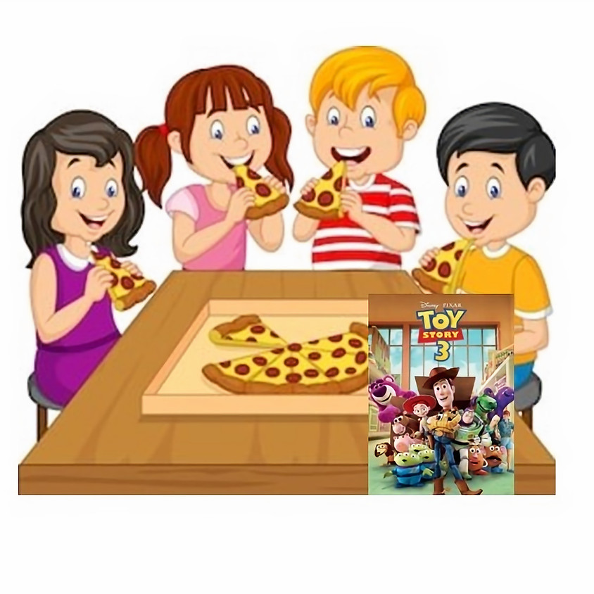 Kids only Pizza Party January 22nd