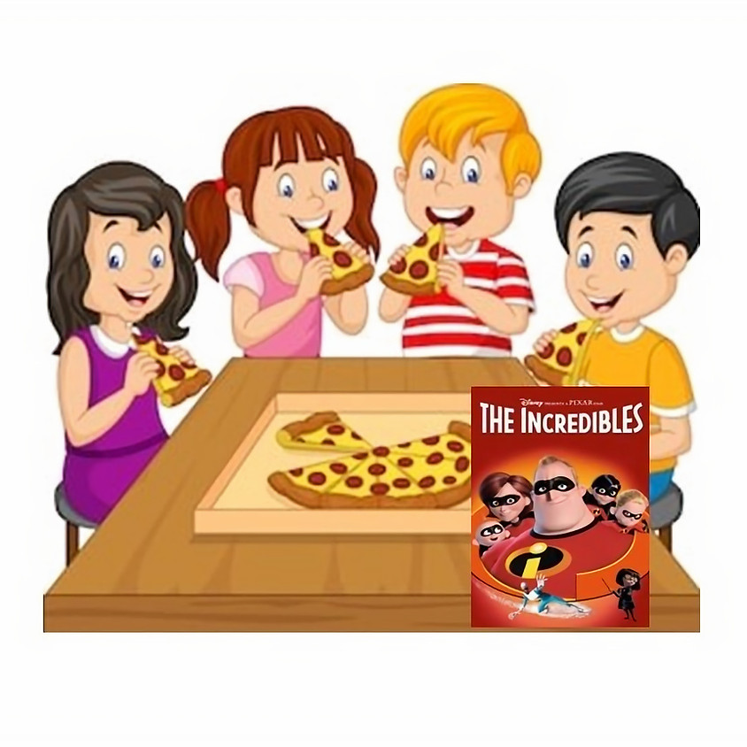 Kids only Pizza Party January 9th