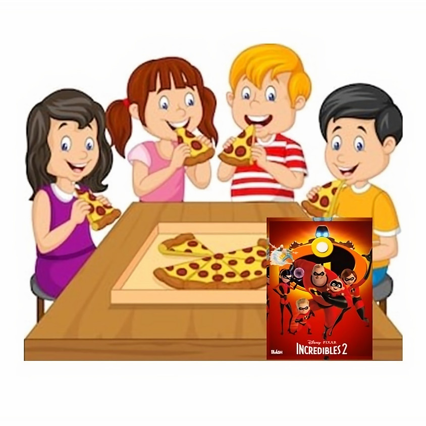 Kids only Pizza Party January 16th