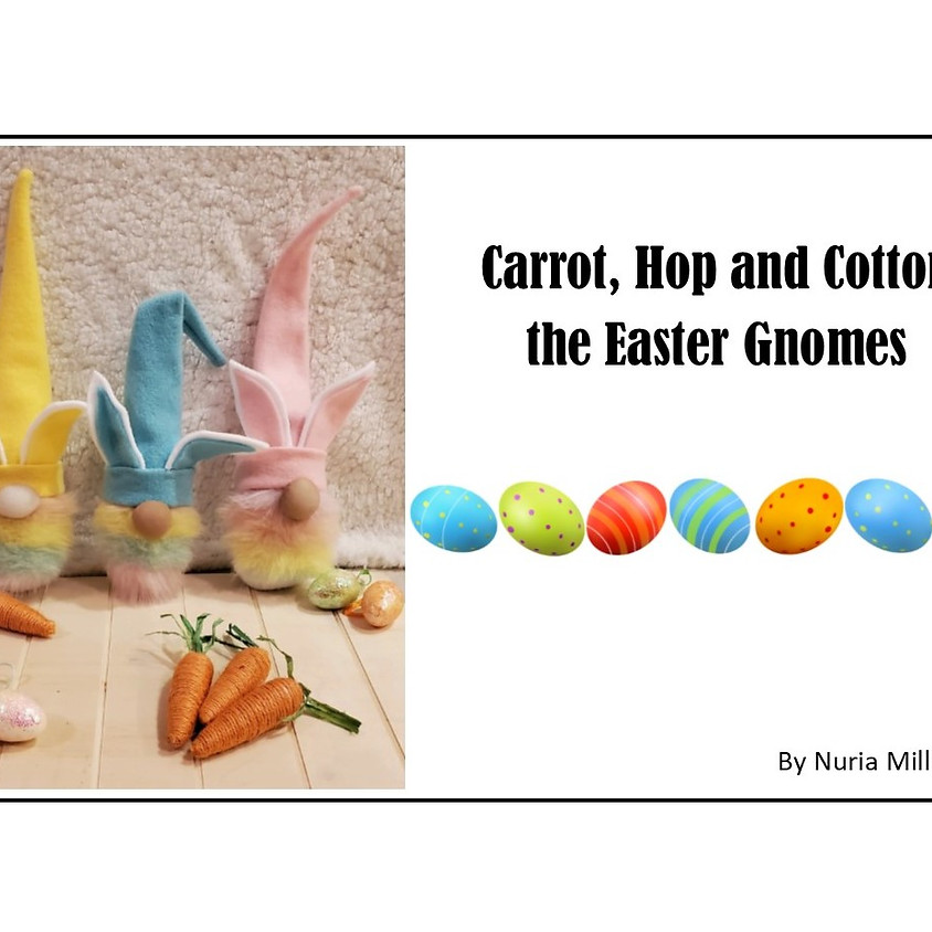 Easter Sock Gnome Making
