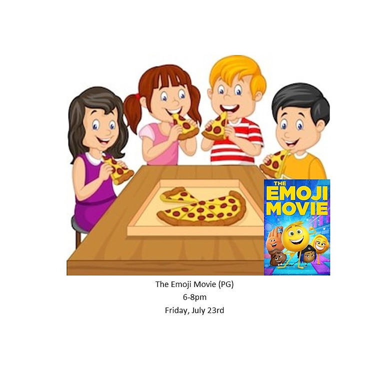 Kids Only Movie Night Pizza Party 7/23